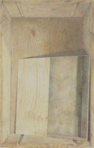 Ölkreidestift und Bleistift auf Papier, 42 × 26 cm, 2016